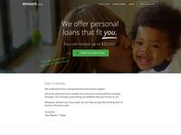 Amount homepage