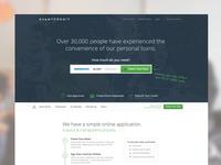 AvantCredit Landing Page