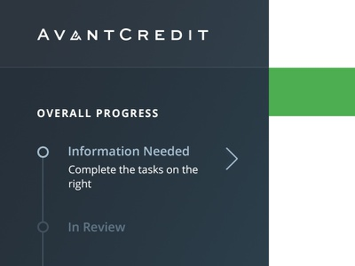 Dashboard - In Progress Customers avant avantcredit dashboard in progress customers onboarding