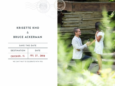 Save The Date print wedding invitations save the date