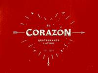 El Corazon Logo Concept