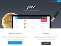 Jobbd Landing Page