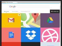 Chrome apps landing full