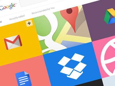 Chrome apps landing small