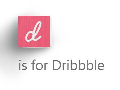 D Is For Dribbble rebound abc.xyz alphabet google dribbble