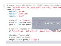 Expandable code blocks v2