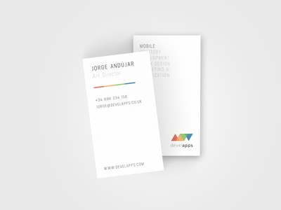 Business Card Develapps