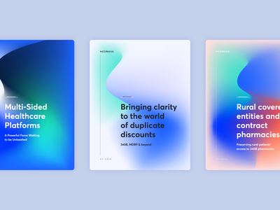 Kalderos Whitepaper Covers colorful cover art cover design gradient cover