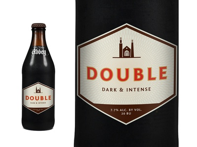 OTA Double Label pattern beer packaging icon label