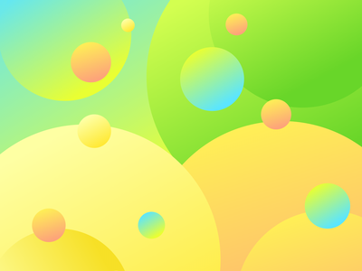 Lemon Color app icon typography ux vector branding ui logo illustration design first shot