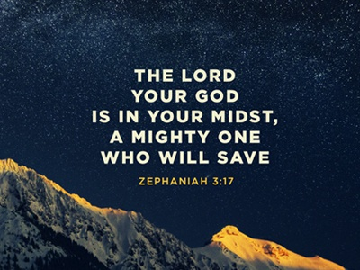 Zephaniah 3:17 wallpaper inspirational mountains bible