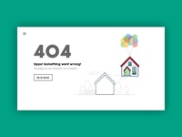 404 Page - Real Estate Site