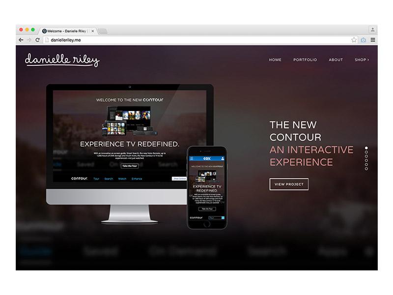 New Website wordpress portfolio web website digital