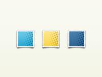 social stamp template