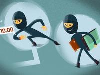 More burglars...