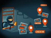 Social Media burglar