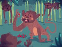 Monkeys! - concept art