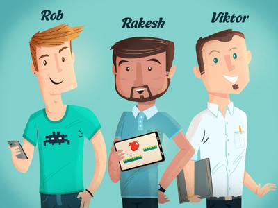 Developer Characters