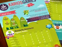 Karios Games infographic