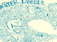 Monster Doodle - vector design