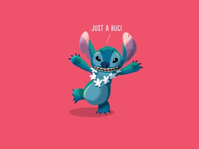 Stitch character