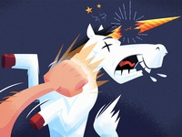 Punch a unicorn (in the face)!