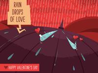Rain Drops of Love