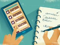 Social Media and Notes