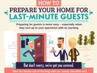 Last-minute guests