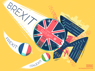 :::Brexit - Frexit - Italexit::: referendum eu italexit frexit eagle germany brexit
