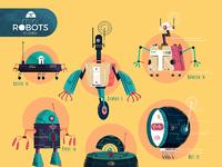 Minirobotsposters sounas