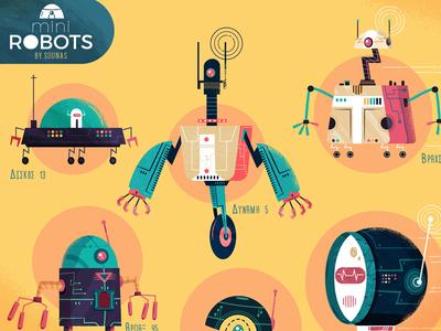 :::Mini Robots full poster:::