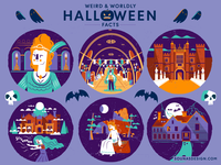 :::Halloween Illustrations - part B:::