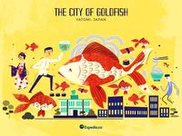 :::The City of Goldfish: Yatomi, Japan:::
