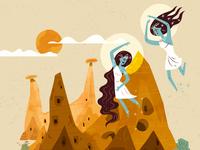 :::The Legends Behind Natural Wonders - Cappadocia:::