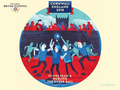:::British games - Silver Ball::: uk games sports silver ball tradition cornwall