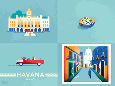 :::Havana-Cuba::: cuba revolution taxi city streets war museum food havana