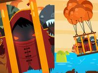 MonsterUp illustrations