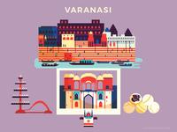 :::Travel posters - Varanasi:::