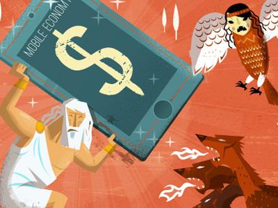 10+1 myths about the Mobile Economy mythology monster myth economy mobile industry