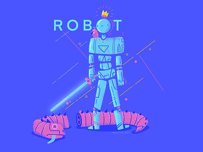 :::Robot Dragon::: sword saber futuristic space robot wyrm dragon