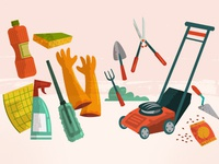Cleanup & Gardening tools