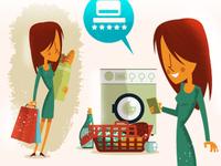 Woman Tasks