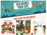 Outsource Your Life- Dashlane Infographic