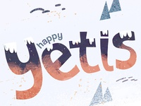 Happy Yetis