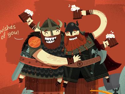 "Drunk Vikings ""2013 wishes"""