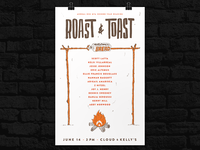 Roast And Toast Poster