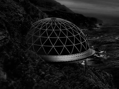 [supersecretclub] supersecret base ocean sea grain film noise filter photography illustration collage