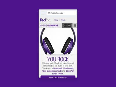 My FedEx Rewards - Mobile