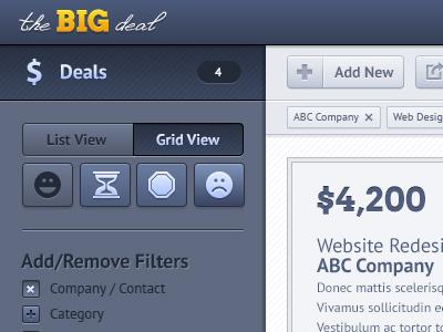 The Big Deal web app application